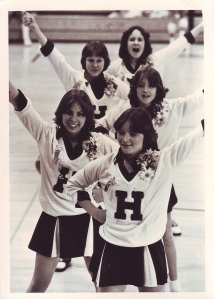 8th grade cheerleading photo - Highland Jr High