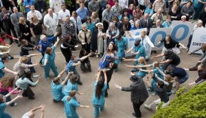 ABBA flash mob - Seattle